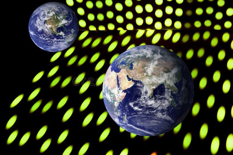 Illustration för kvantfysik royaltyfri illustrationer