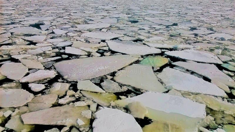 Illustration för kvarter för naturlig is arkivfoto