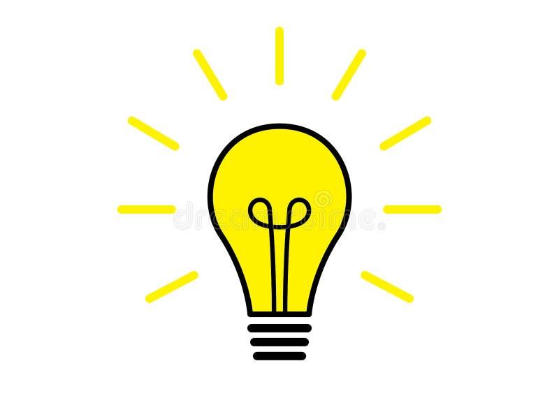 Illustration för ljus kula vektor illustrationer