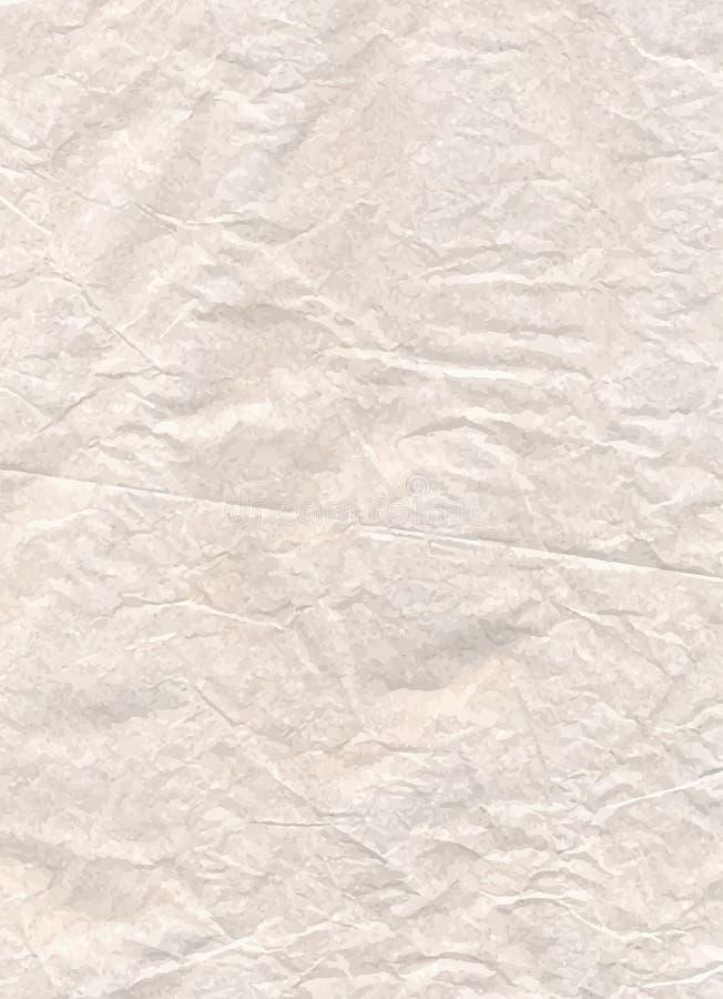 Illustration för pergamentpapper, vektortextur, eps10 royaltyfri illustrationer