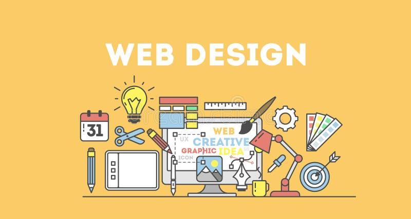 illustration för rengöringsdukdesign vektor illustrationer