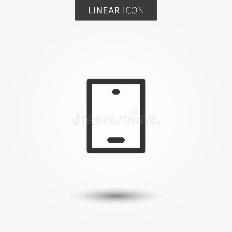 Illustration för Smartphone symbolsvektor vektor illustrationer