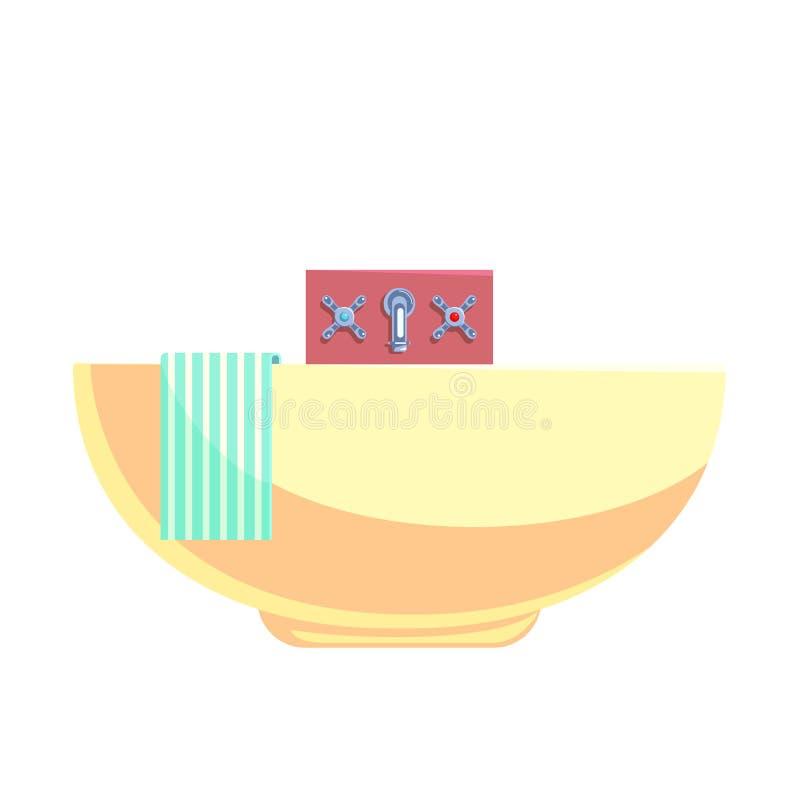 Illustration för tecknad filmrörvektor royaltyfri illustrationer