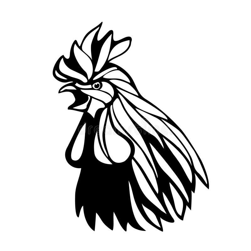Illustration för tupphuvudöversikt royaltyfri illustrationer