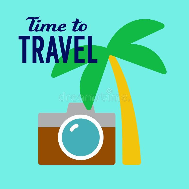 Illustration för turist- lopp vektor illustrationer