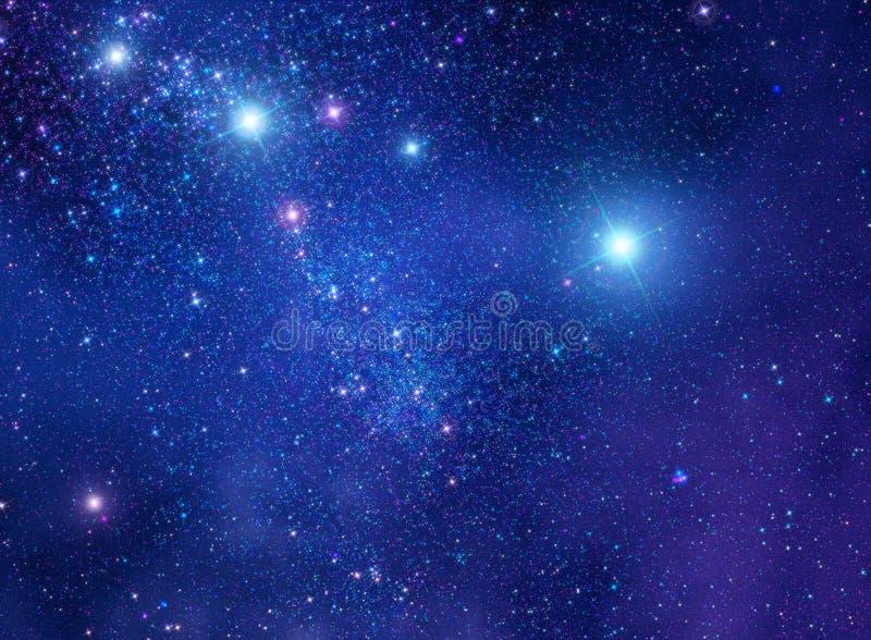 Illustration för utrymmestjärnabakgrund arkivbilder