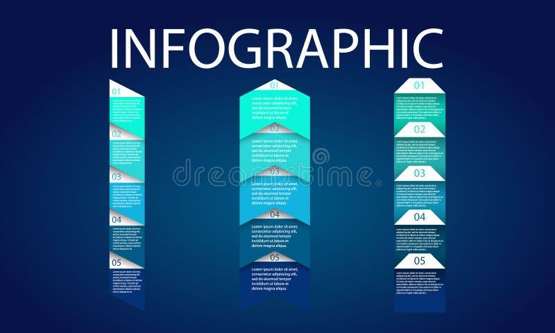 Illustration för vektor för design för presentationsmalllägenhet för advertizing för marknadsföring för rengöringsdukdesign vektor illustrationer