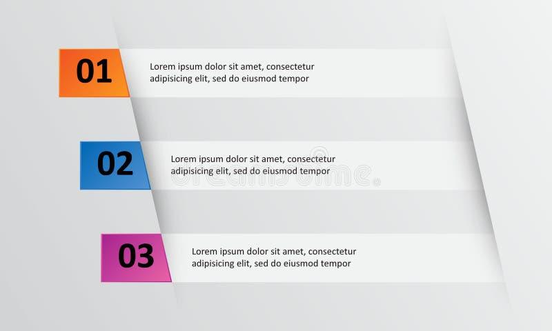 Illustration för vektor för design för presentationsmalllägenhet för advertizing för marknadsföring för rengöringsdukdesign royaltyfri illustrationer