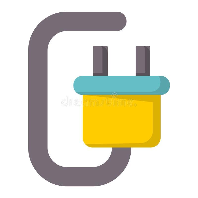 Illustration för vektor för teknologi för positiv tillförsel för uppladdare för elektricitet för batterienergihjälpmedel alkalisk vektor illustrationer