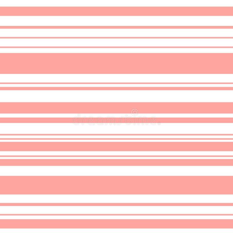 Illustration för vektor för kort för gåva för bröllop för sömlös för modell för valentindaghjärtor för bakgrund för förälskelse f vektor illustrationer