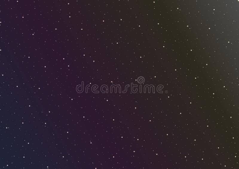 Illustration för vektordiagram av yttre rymd royaltyfri foto