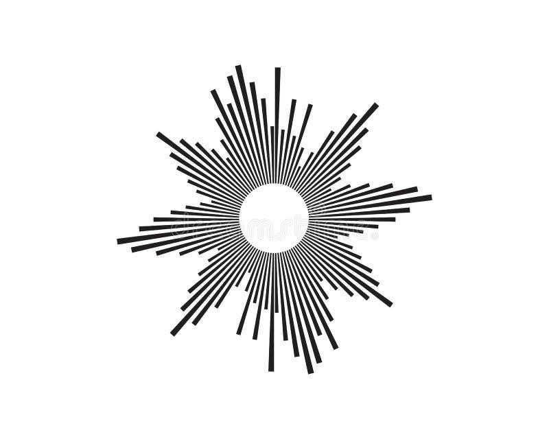 Illustration f?r vektor f?r solida v?gor royaltyfri illustrationer