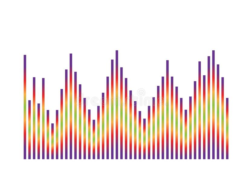 Illustration f?r vektor f?r solida v?gor stock illustrationer
