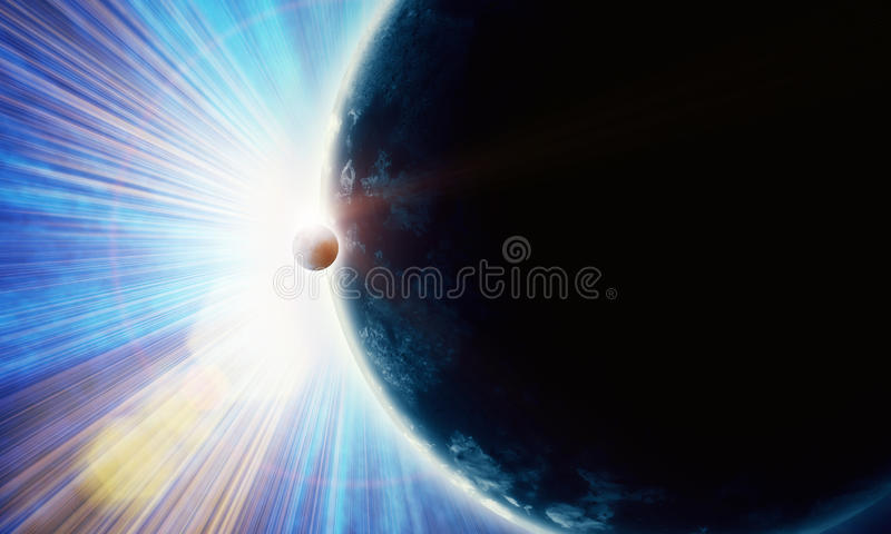 Download Illustration Of Fantastic Space Stock Illustration - Image: 33325360