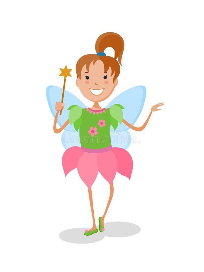 Illustration Featuring Dancing Kid vector illustration