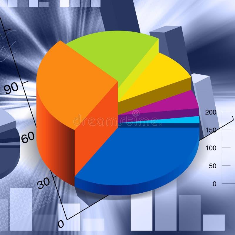 Illustration financière illustration stock