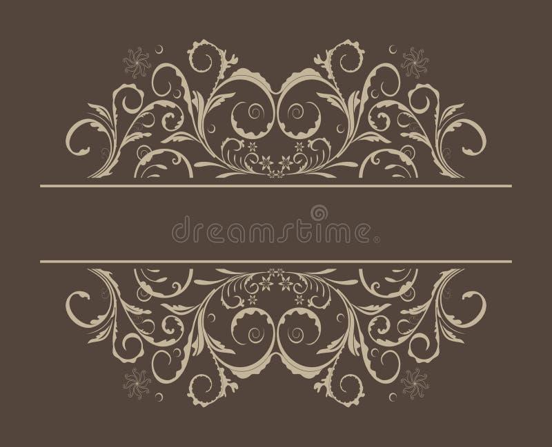 Illustration floral background vector illustration