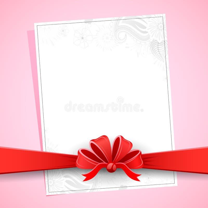 Floral Card stock illustration