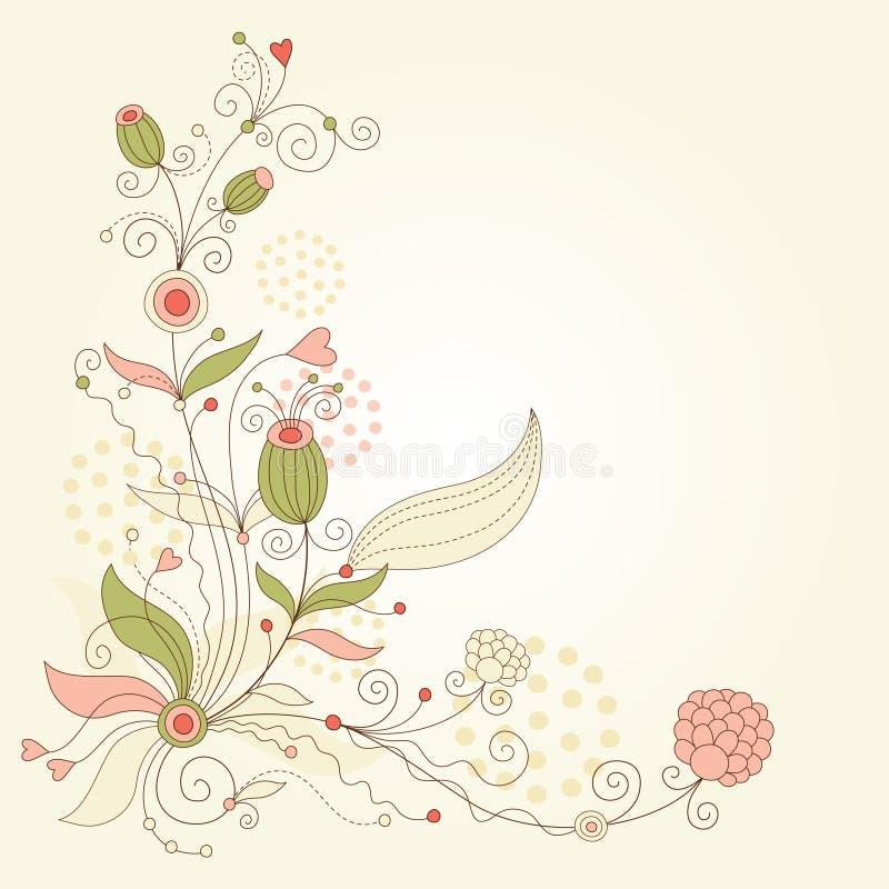 Illustration florale illustration de vecteur