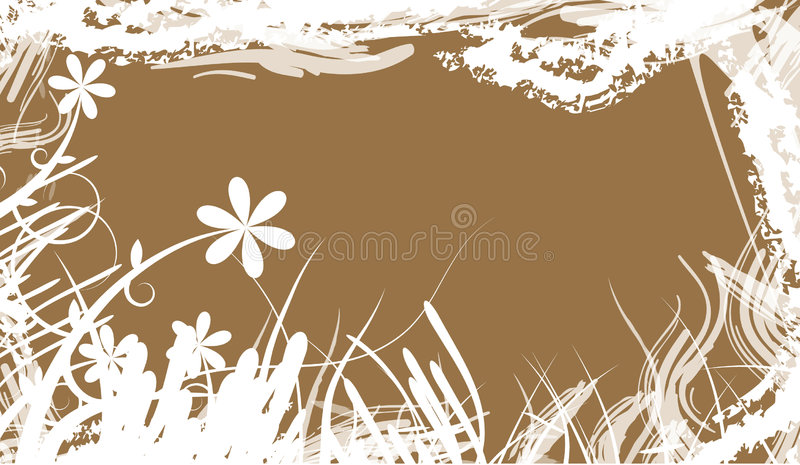 Illustration florale illustration stock