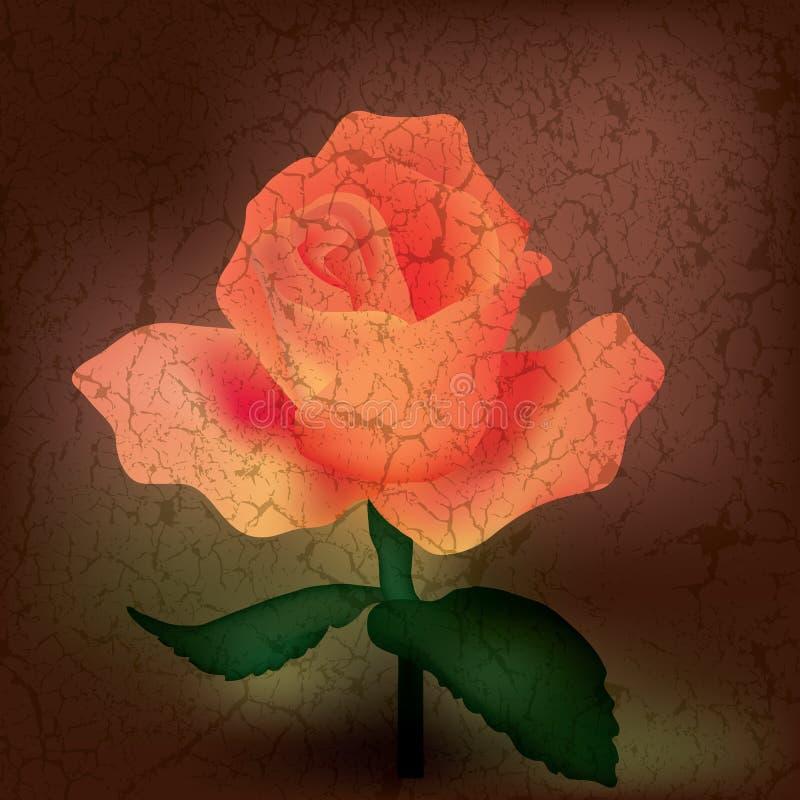 Illustration florale abstraite illustration libre de droits
