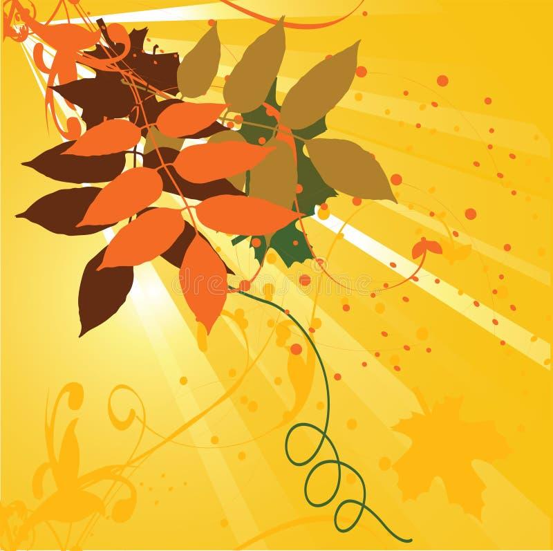Illustration florale de fond illustration stock