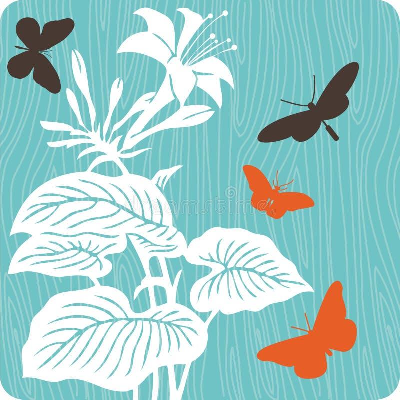 Illustration florale de fond photos stock
