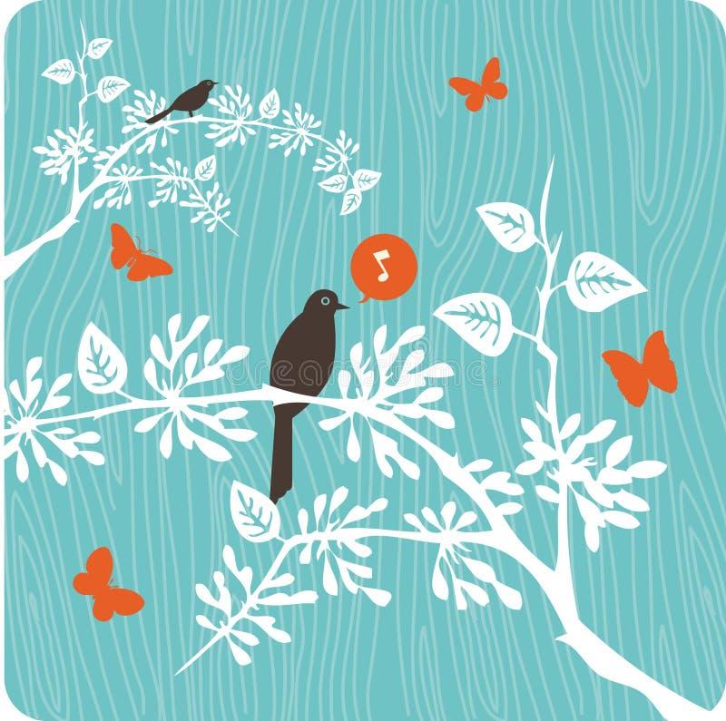 Illustration florale de fond photographie stock libre de droits