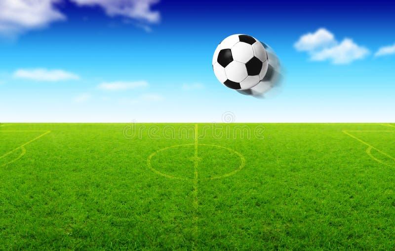 Download Illustration Of Football Ball In Motion Stock Illustration - Image: 15073823