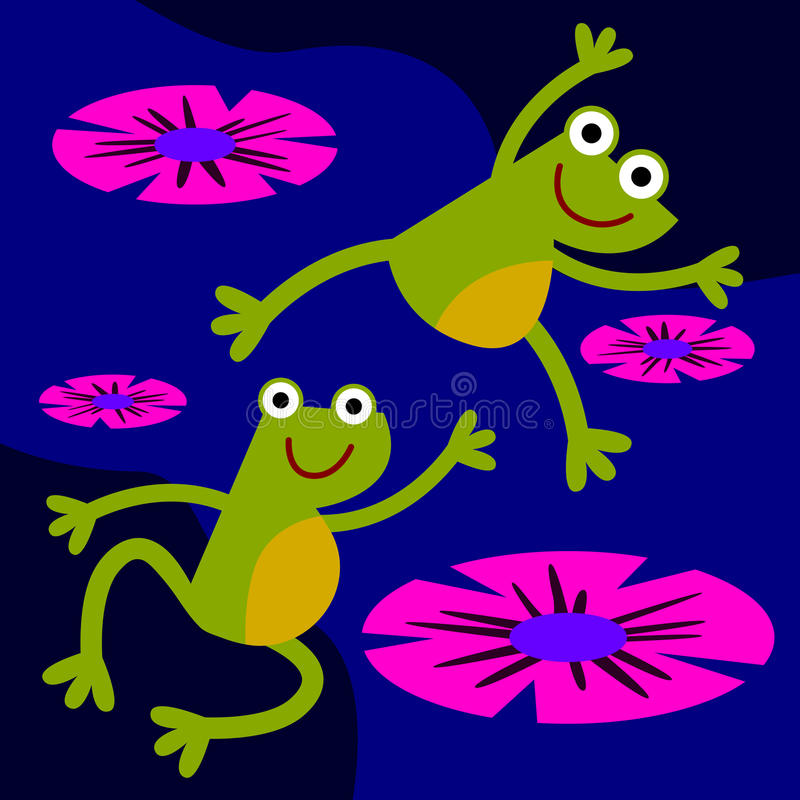 Download Leap frog stock illustration. Illustration of concept - 29925047