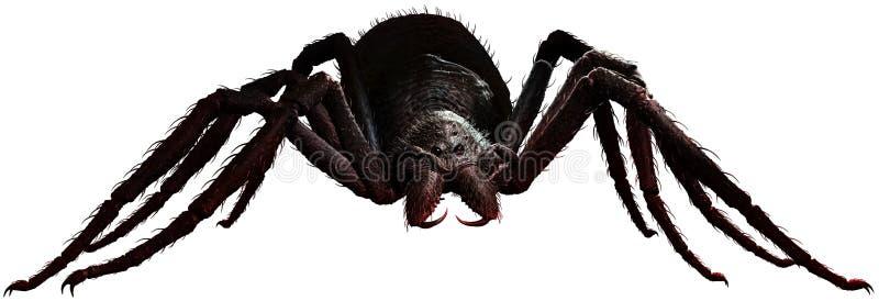 Illustration géante de l'araignée 3D illustration stock