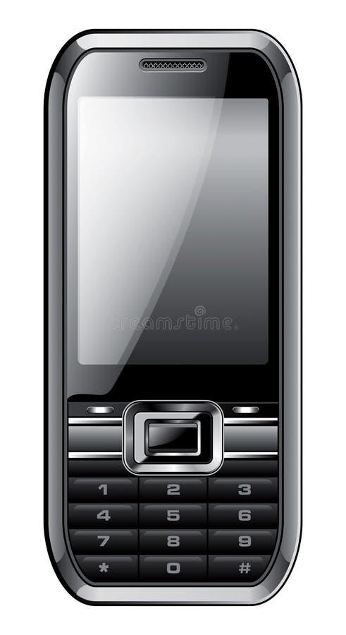 Illustration générique de téléphone illustration stock