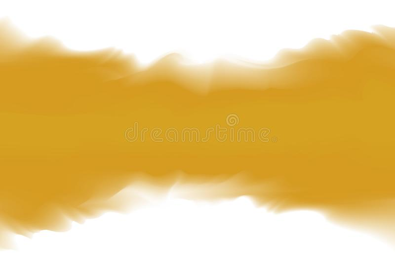 Gold color soft in concept water color art style, abstract texture gold colors painting art brush watercolor. Illustration gold color soft in concept water color vector illustration