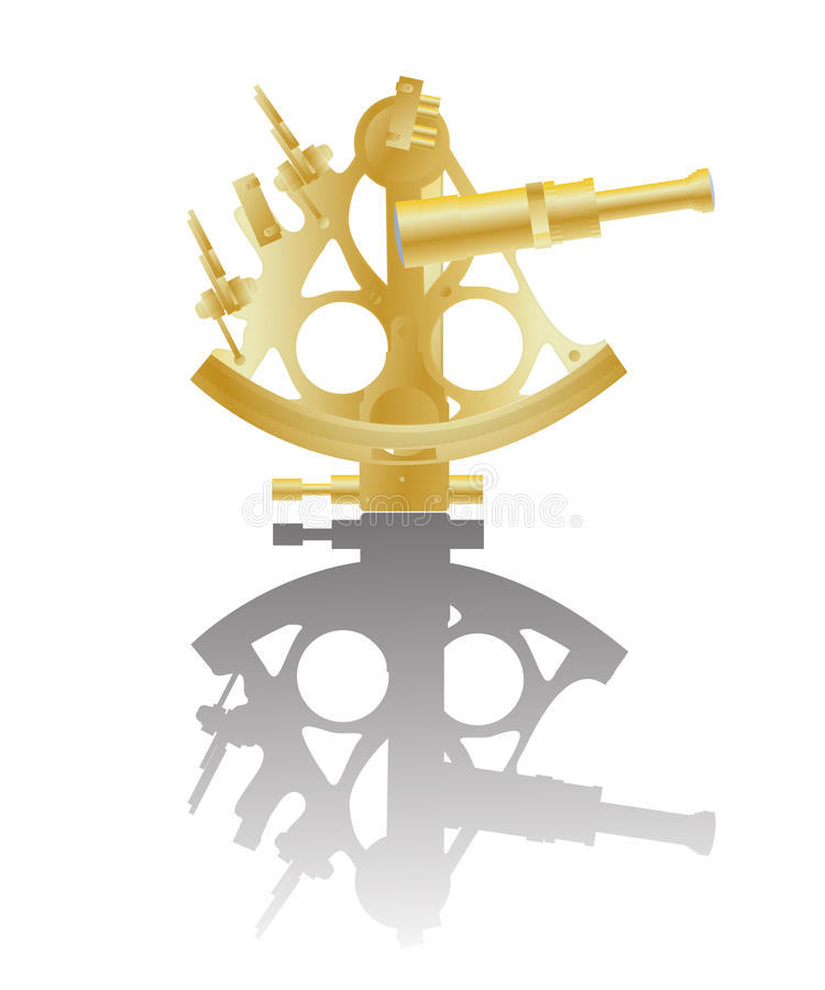 Download Sextant stock vector. Image of history, obsolete, optical - 29923769