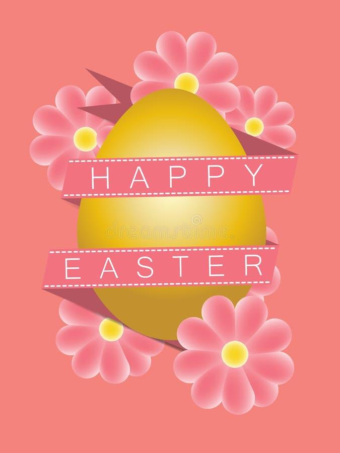 Download Illustration Goldenes Osterei Mit Dekorativen Elementen Und Band Stock Abbildung - Illustration von glücklich, geschenk: 90226438