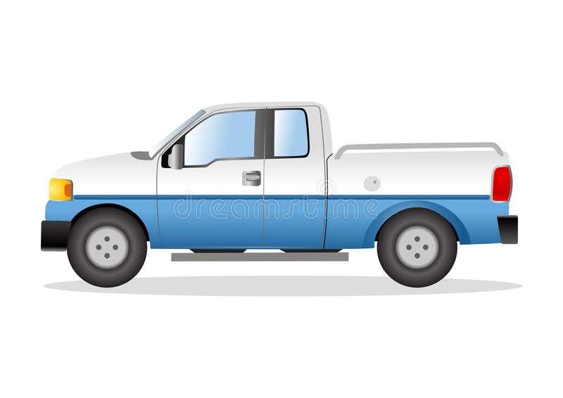 Illustration graphique d'une sélection vers le haut de camion illustration de vecteur