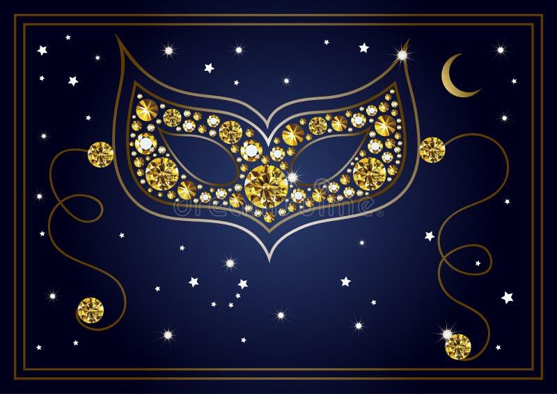 Download Illustration Graphique Du Masque Avec Les Diamants 21 Illustration de Vecteur - Illustration du booklet, abstrait: 87709259