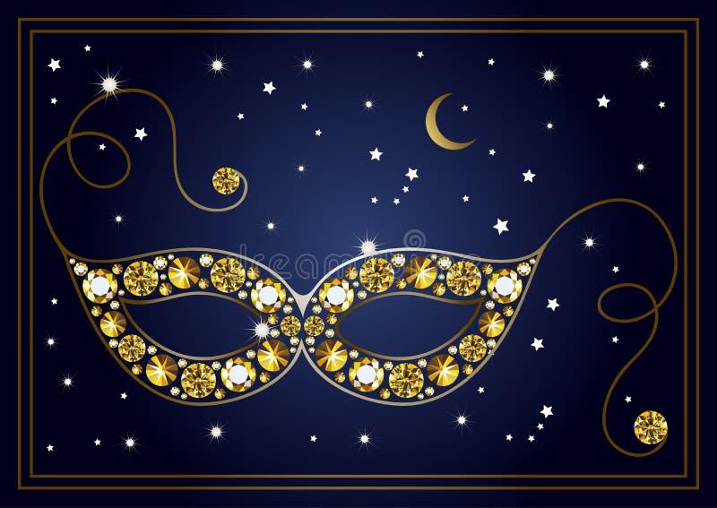 Download Illustration Graphique Du Masque Avec Les Diamants 24 Illustration de Vecteur - Illustration du vacances, célébration: 87709369