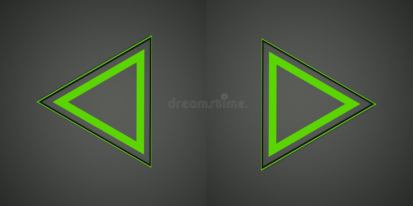 Download Illustration With Green Arrows Sign Royalty Free Stock Photo - Image: 33170665