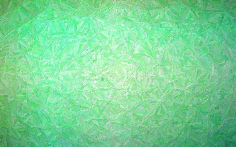 Illustration of green Colorful Impasto background. royalty free stock photo