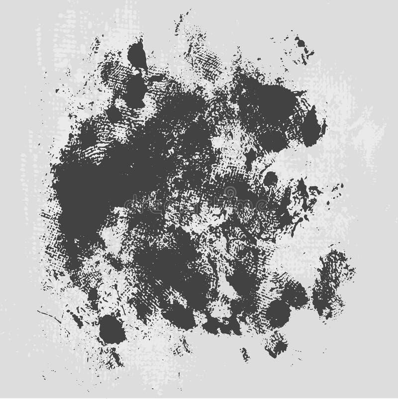 Illustration grunge de fond de texture de hachure approximative illustration stock