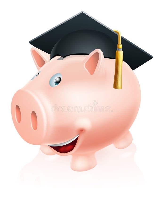 Education savings piggy bank
