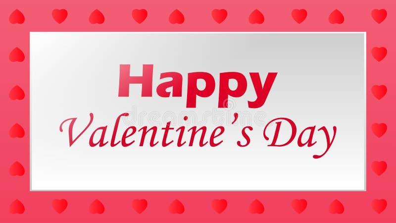 Happy valentine`s day. Illustration of Happy valentine`s day stock illustration