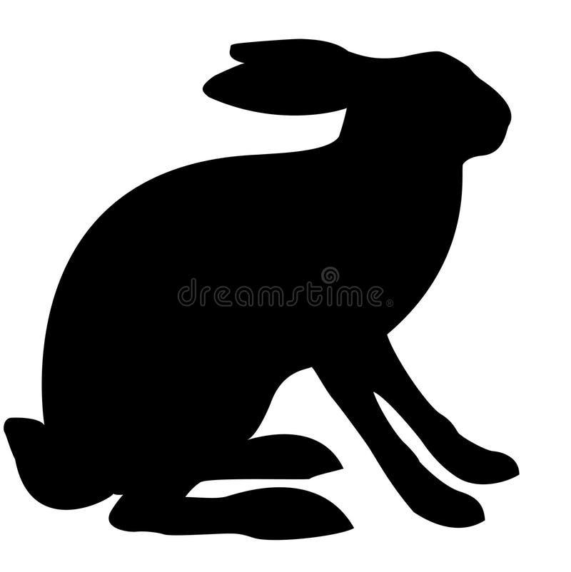 Illustration hare stock illustration