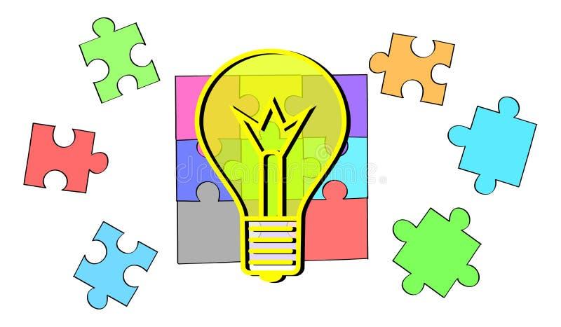 Concept of idea royalty free illustration