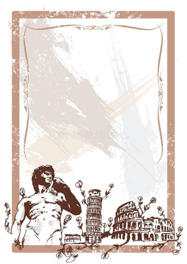Illustration italienne de bornes limites
