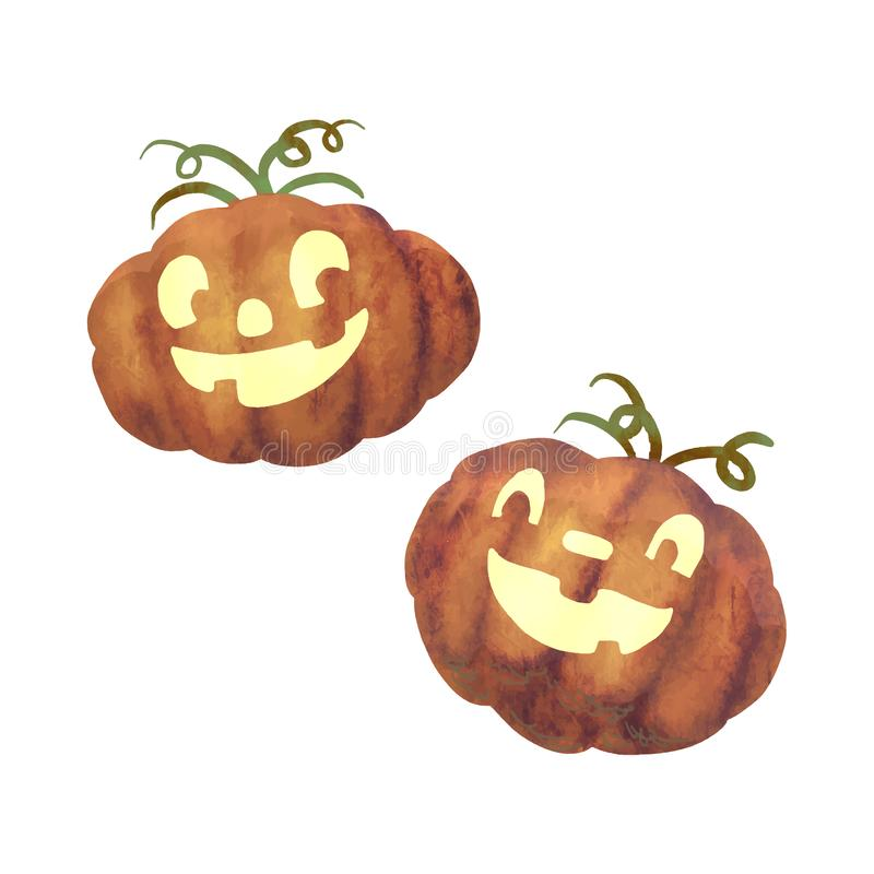 Illustration of jack o lantern icon vector for Halloween vector illustration