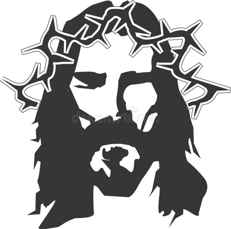 illustration jesus vektor illustrationer