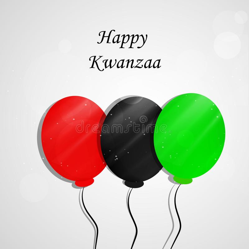 Illustration of Kwanzaa Background vector illustration