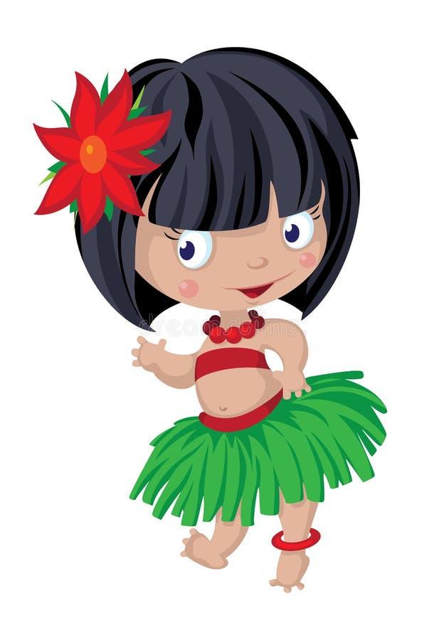 Download Little dancer stock vector. Image of female, smile, children - 30262135